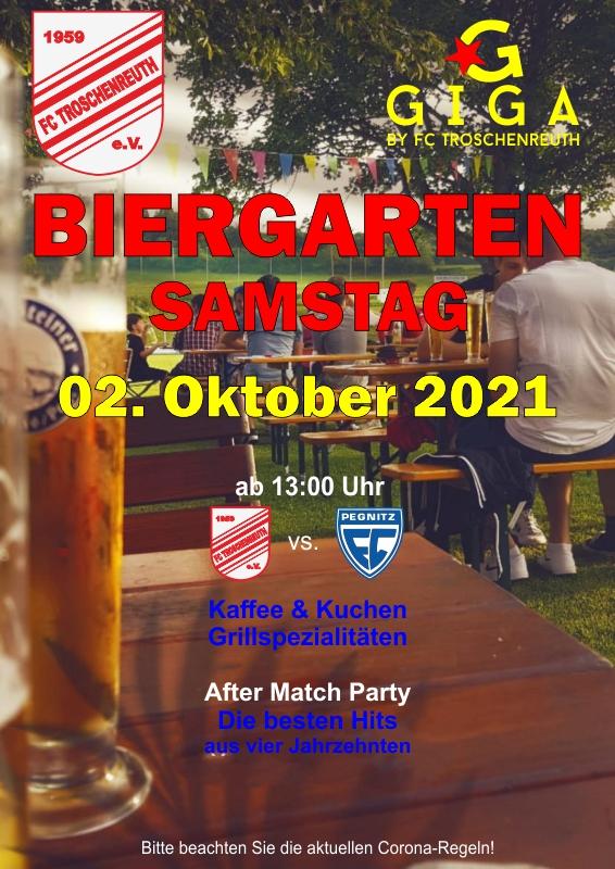 Biergarten Samstag 2021